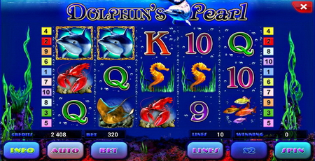 слоты онлайн Dolphins Pearl Deluxe